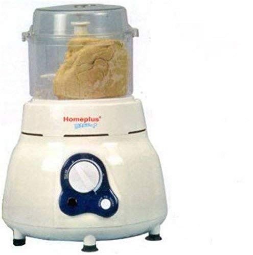 Homeplus Plastic Vertical Dough Maker (White, Homeplus-atta-kneader)
