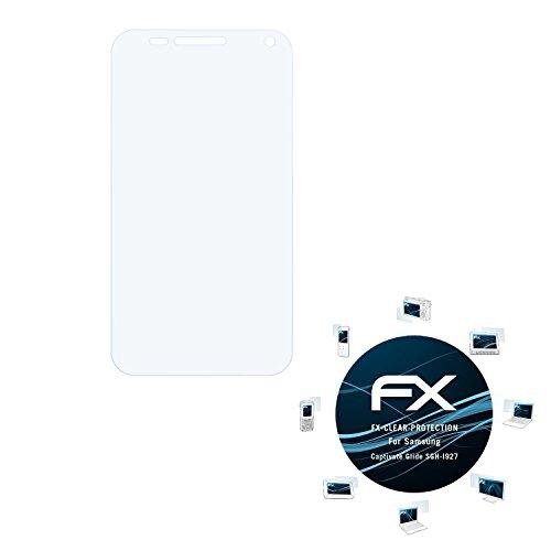 Samsung Captivate Glide (SGH-I927) Schutzfolie - 3 x atFoliX FX-Clear kristallklare Folie Displayschutzfolie