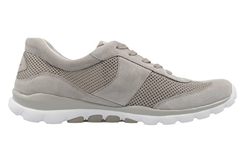 Gabor Rollingsoft - Damen Halbschuhe - Grau Schuhe in Übergrößen Grau