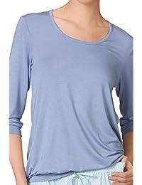 Calida - T-shirt de sport - Col ras du cou - Manches longues Femme