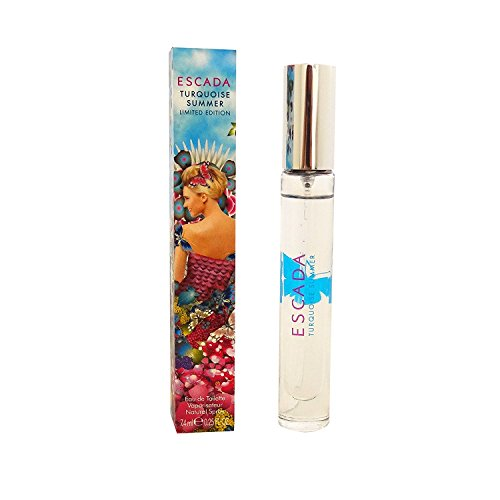 Escada, Edizione limitata, colore: turchese, Summer Eau de Toilette Spray 200 ml