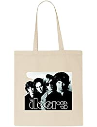 The Doors Group Band Photo Print T-Shirt Tote Bag