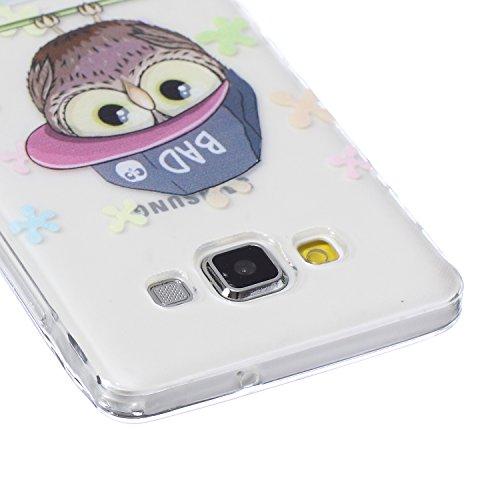 iPhone 3S, Iphone 6cas, nsstar anti-rayures Ultra Fine cristal transparent en gel Housse étui coque souple en TPU Bumper en silicone transparent avec protection antichoc pour Apple iPhone 6/6S 11,9c Scooter Owl