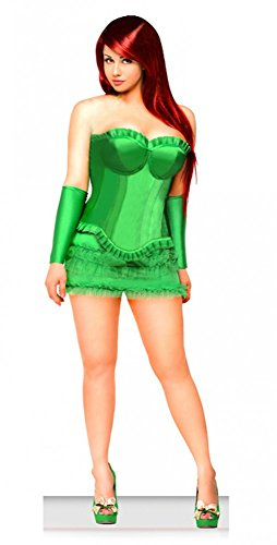 shoperama Korsagen-Kostüm Poison IVY, Größe:S/M