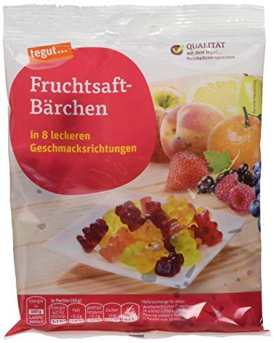 tegut... Fruchtsaft-Bärchen, 150 g