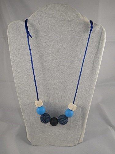 Collier de portage/allaitement bleu