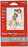 Canon Carta Lucida Glossy Paper Gp-501 4, 100 Fogli, 10 X 15 cm