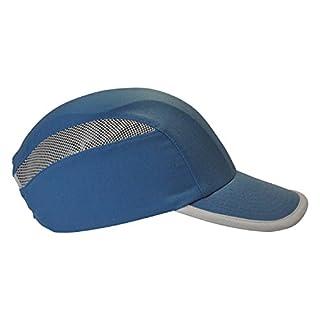 Anstoßkappe/Sicherheitskappe mit ABS-Schale & Ventilation (Blau)