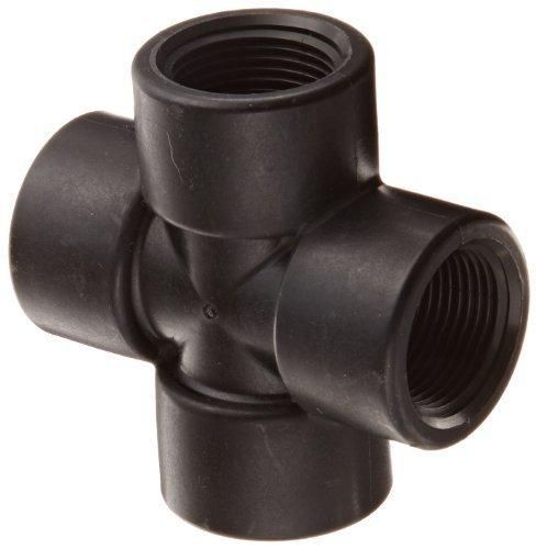 Banjo CR100 Polypropylene Pipe Fitting, Cross, Schedule 80, 1