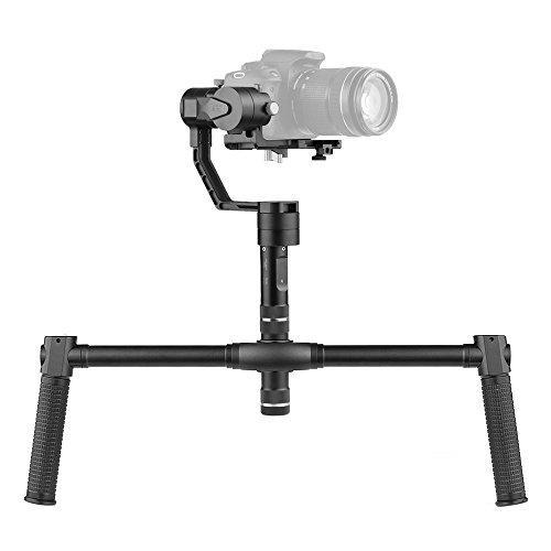 Zhiyun Crane V2 3 Achsen Stabilizer Hand Gimbal für Sony A7-Serie für Panasonic Lumix-Serie für Canon M-Serie für Nikon J Kameras Kameras Payload Gewicht 350g-1200g mit Andoer Reinigungstuch Panasonic Lumix Serie
