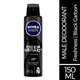 Nivea Men Deep Impact Freshness Deodorant Spray for Men, 150 ml