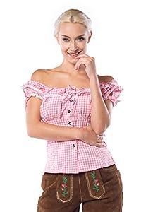 Partychimp, Blusa para Mujer, Rosa, 36 (Liesl)