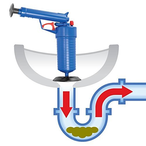 Desatascador Tuberias / Desatascador para Inodoro / Toilet Plunger
