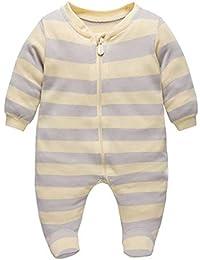 Bebé Pijama Mamelucos de Algodón Peleles Niños Niñas ...