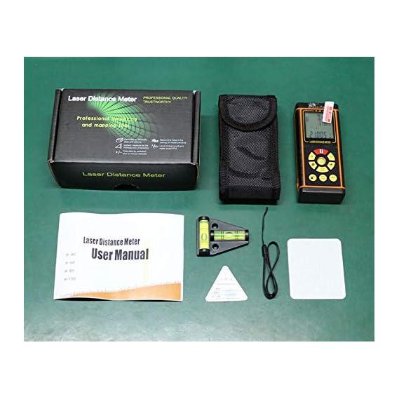 Baybar 100M Digital Laser Distance Meter Laser Rangefinder Optical Tape Range Finder Diastimeter