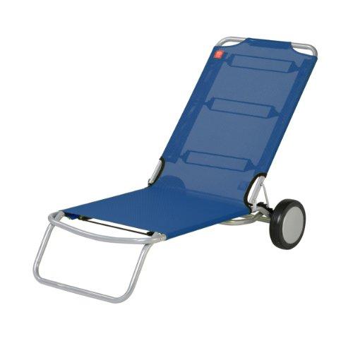 Wheely Strandstuhl dunkelblau