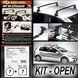 Superauto Kit + barre portatutto Open Lancia Ypsilon 3 porte (2a Serie) dal...