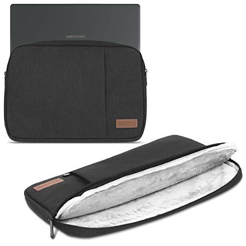 Medion Akoya S3409 E4254 S4219 E3216 E3215 Tasche Schwarz Notebook Hülle Schutzhülle Cover Case Laptop