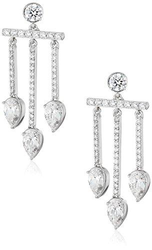 nicole-miller-pear-chandelier-rhodium-drop-earrings