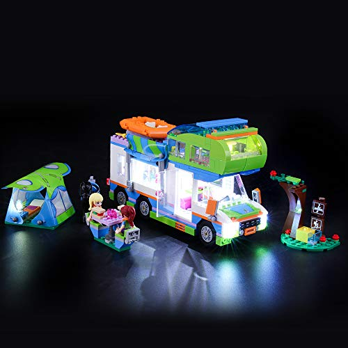 BRIKSMAX Led Beleuchtungsset für Lego Friends Mias Wohnmobil,Kompatibel Mit Lego 41339 Bausteinen Modell - Ohne Lego Set