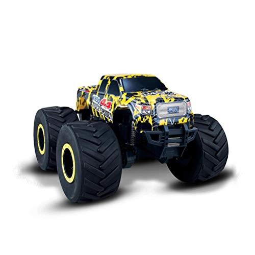 LECC Todo Terreno Radio Control Remoto Coche al Aire Libre, eléctrico RC Offroad Desert Buggy vehículos de Mayor Velocidad 45 km/h para Adultos,Yellow