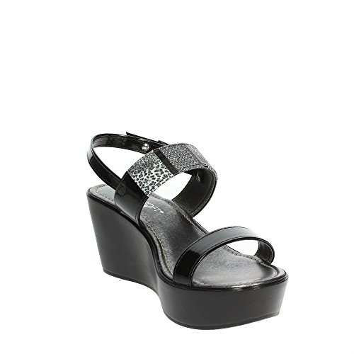Sandalo Cinzia Morbido Donna Iad18912 V003 Nero PITq7TnxW
