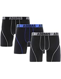 adidas Men's Climalite Performance Boxer Brief Underwear