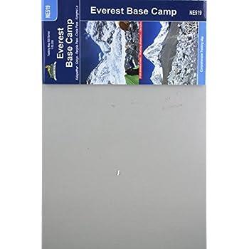 Carte de randonnée: NE519 Trek du camp de Base de l'everest (Trekking Map Everest Base Camp)