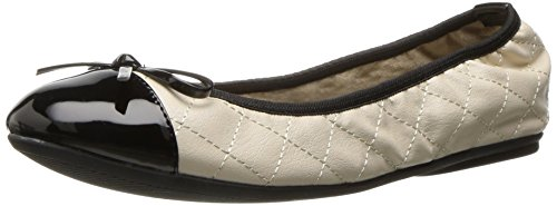 Ballerinas Faltbare (Butterfly Twists Damen Ballerinas Ballerinas Olivia, Off-White (Cream), Gr. 40 (UK: 7))