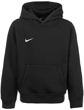 Nike YTH Team Club Hoody, Sudadera con Capucha para niño, Negro (Black/Football White), XS (122-128)