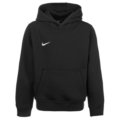 Nike Unisex Kinder Kapuzenpullover Team Club, Schwarz (Black/football White), L
