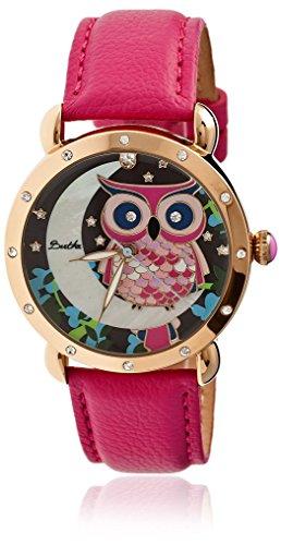 montre-bertha-quartz-affichage-analogique-bracelet-et-cadran-bthbr3006-hot-pink