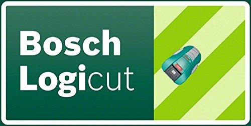 Bosch DIY Mähroboter Indego 1000 Connect, Ladestation, Netzgerät, 200 m Begrenzungsdraht, Befestigungsklammern,Karton (Für bis zu 1000m² Rasenfläche, Mähfläche pro Ladung: bis zu 200 m²) -