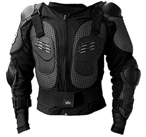 Protektorenjacke Brustpanzer Rückenprotektor (Größe XS) Schutzausrüstung für Fahrrad Bike Quad Motocross Motorrad - Protektor Protektoren Motorrad Jacke Motorradjacke