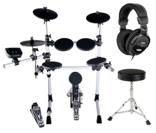 XDrum DD-402 E-Drum-Set Komplettset inkl. Hocker & Kopfhörer