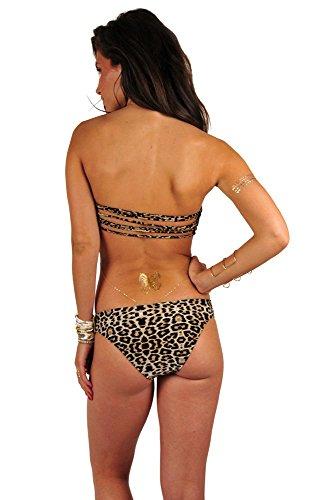 Mon Itsy Bikini Hose mit Leoparden-Print (Hose) Multicolor
