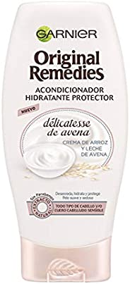 Garnier Original Remedies Delicatesse de Avena Acondicionador Suave Calmante, para Pelo Normal y Sensible - 25