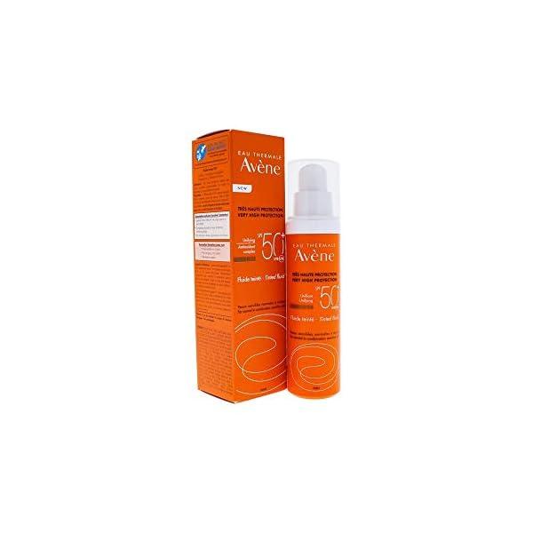 Avene solar spf 50+, oil free fluido coloreado,50ml