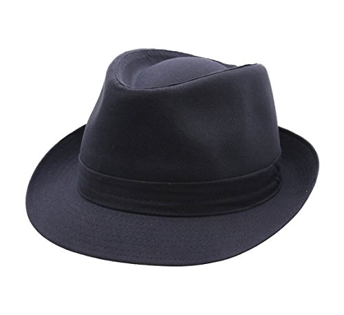 Classic Italy - Chapeau Trilby - 10 Coloris - Homme ou Femme Classic Trilby - Taille 58 cm - Marine