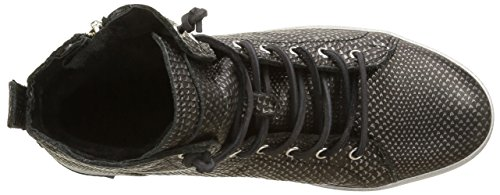 Blackstone Kl62, Scarpe da ginnastica Donna Noir (black Metallic)
