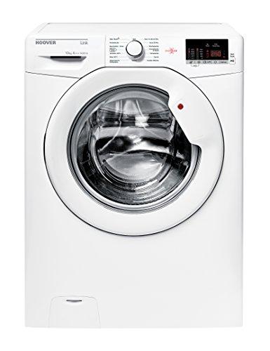 Hoover HL G4102 D3 Waschmaschine Frontlader/A+++/1400 UpM/kg/App-steuerbar dank NFC-Technologie/weiß