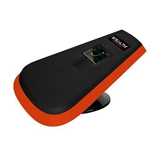 STEALTH Core Trainer Persönlichen-Dynamische ab Plank Workout, interaktives Fitness Board mit Gameplay Technologie für einen gesunden Rücken und starken Core (orange) -