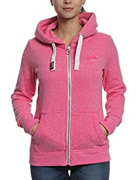 sweat superdry g20012xods rose