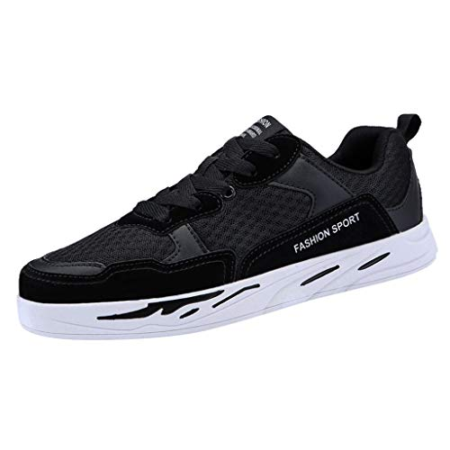 Baskets Mode Femmes Chaussure de Sport Gym Fitness Sneakers Basses Plate Jogging Voyage Respirantes