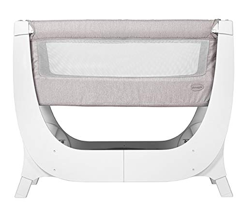 Shnuggle Air Cot Conversion Kit Shnuggle Extends the life of the Shnuggle Air Bedside Crib from 6 months up to 2 years* Large, dual-view mesh sides promote breathability and allow you to see your little one more easily. Uniquely designed Air-Flow Mattress (sold separately), with a hypo-allergenic fibre core providing 50% more breathability than a standard foam mattress** 9