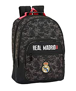Real Madrid CF- Real Madrid Mochila, Color Negro (SAFTA 611924560)