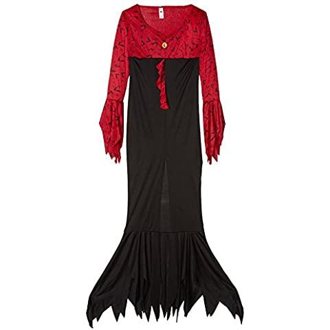 Smiffy's - Disfraz de reina malvada para mujer, talla 44 (23166L)
