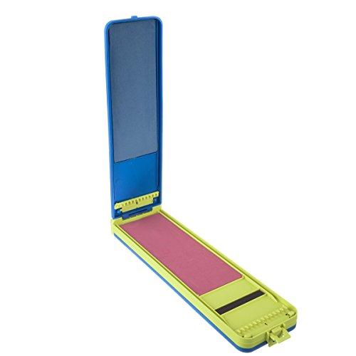 Marke neue ABS Angeln Box Float Set Winde Board Angelschnur Bobbin Winder Wurm Köder Lure Fly Fisch Tackle Box yc164-sz + -