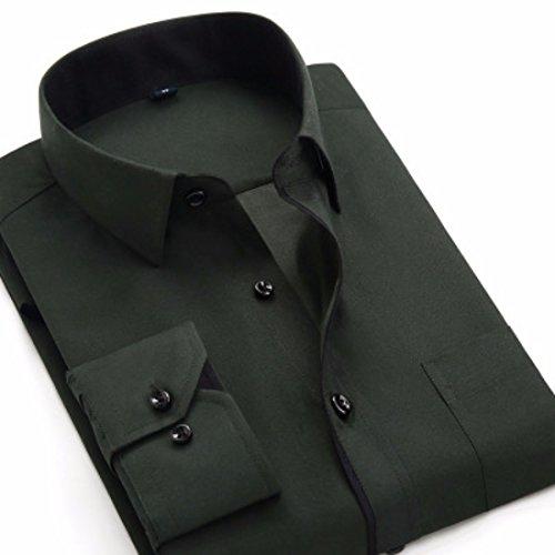 Mens Herren Hemden Wihte Formal Imported Shirts BK17
