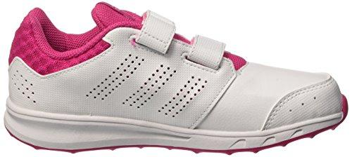 Adidas Lk Sport 2 Cf K, Scarpe da Corsa Bambine e Ragazze, Pink/Weiß/Mint Multicolore (Ftwwht/Sepigl/Eqtpin)